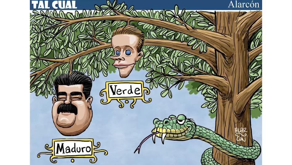 Tal Cual: Maduro, Verde