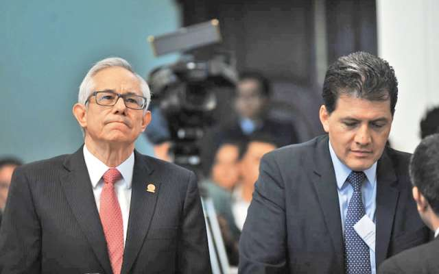 Jorge Gaviño y Víctor Hugo Lobo ven plan con maña de Morena. Foto: Especial
