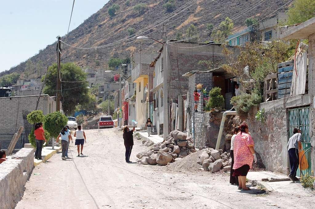Miedo y violencia a tope en Ecatepec. FOTO: MARIO NULO/CUARTOSURO.COM