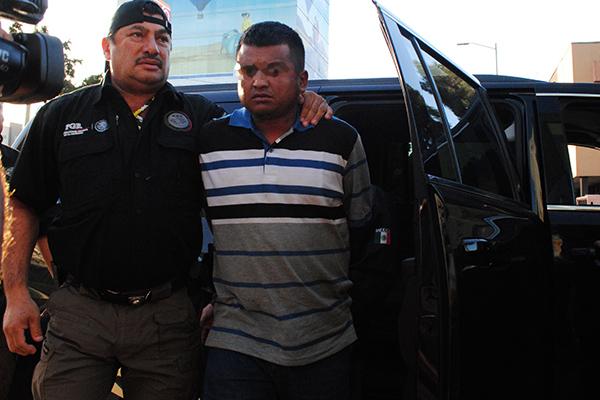 Ya fue deportado a EU. FOTO: CUARTOSCURO