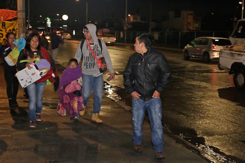 Comités van contra  la inseguridad en Puebla . FOTO: MIREYA NOVO/CUARTOSCURO.COM