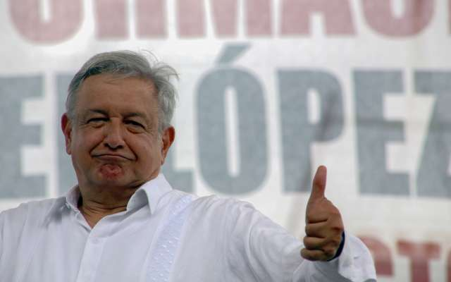 López Obrador destacó que se trabajará por la paz. FOTO: CUARTOSCURO