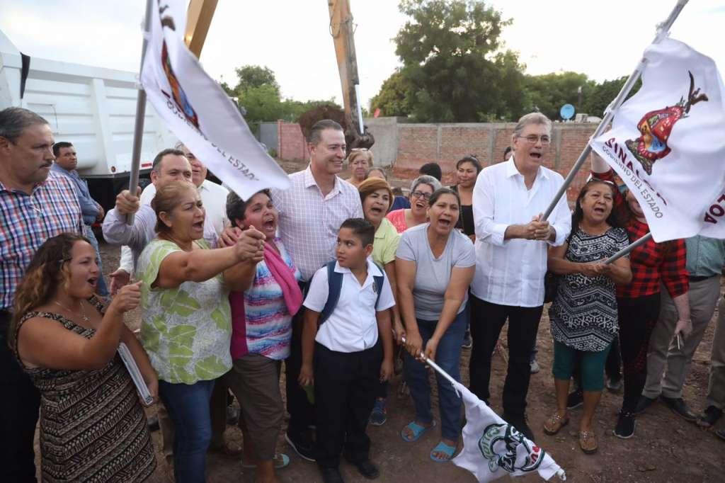 Quirino Ordaz anuncia colector pluvial para evitar inundaciones en Las Mañanitas