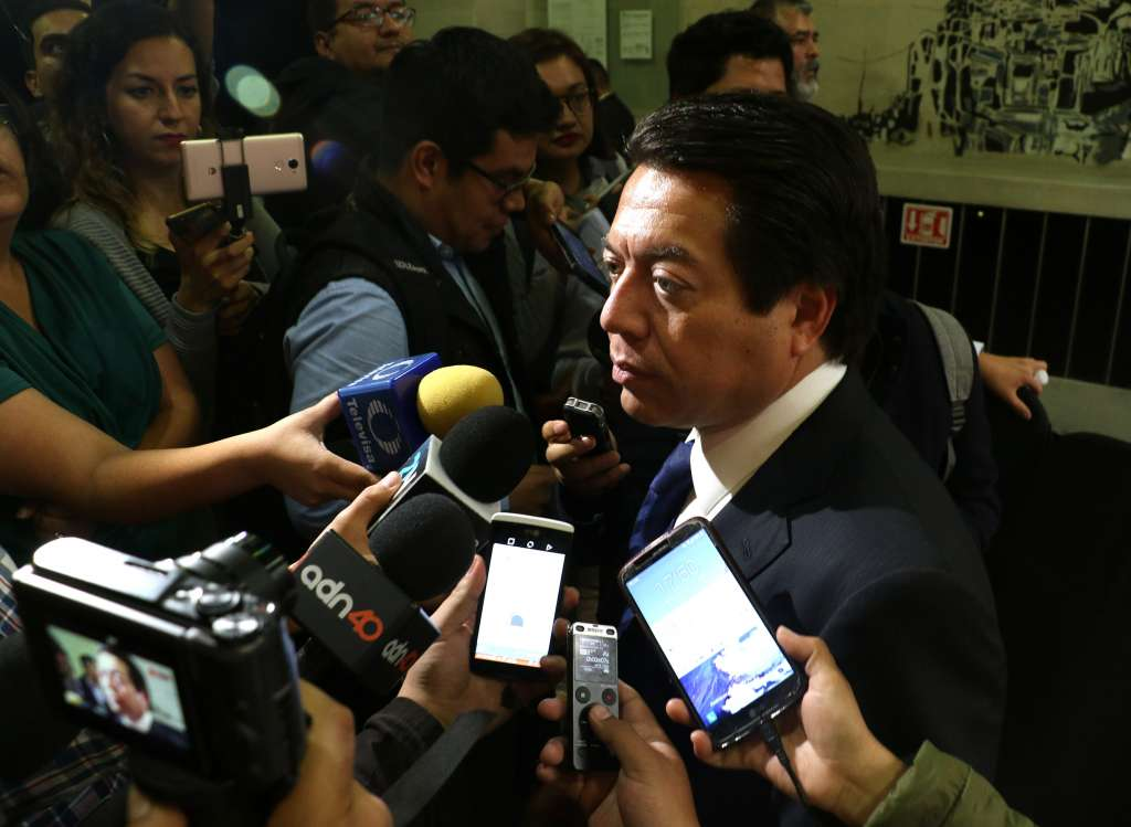Al respecto, Martí Batres explicó que mantuvo comunicación directa con el secretario de gobernación. FOTO: ARCHIVO/ CUARTOSCURO