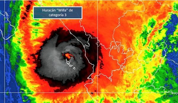 Los informes de afectaciones por el paso del Huracán Willa por las Islas Marías, corresponden a daños menores. Foto: Conagua