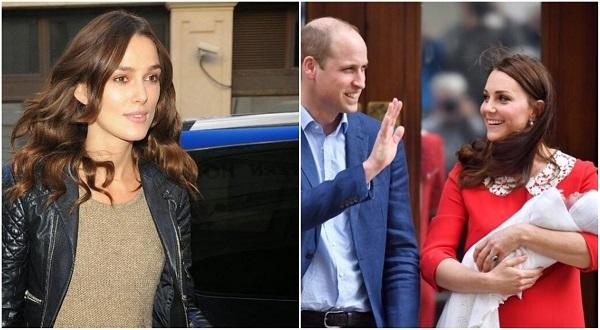 Knightley habló de su propia experiencia y el de la duquesa de Cambridge, Kate Middleton, o más bien, lo que ella mostró al público. Foto: Instagram