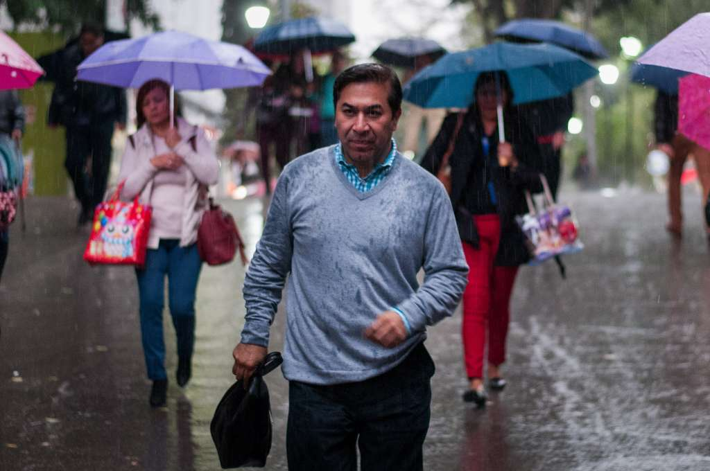 La lluvia se registra en Azcapotzalco, Iztapalapa, Cuauhtémoc y Tlalpan FOTO: ARCHIVO/CUARTOSCURO