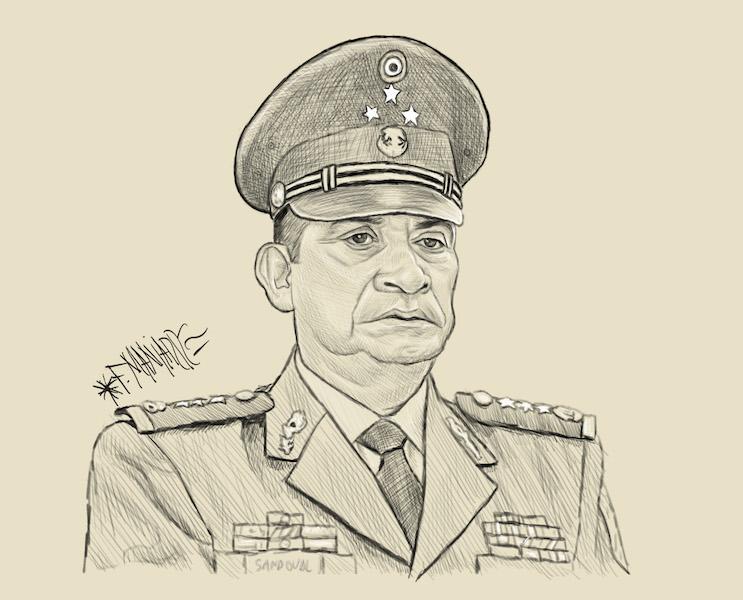 Los días y los años: Luis Crescencio Sandoval. Ilustración: Manjarrez.