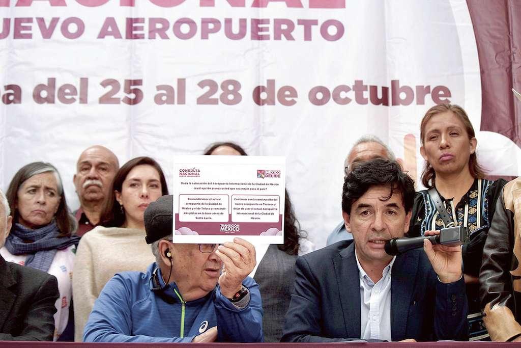 Jesús Ramírez Cuevas, próximo coordinador general de Comunicación Social de la Presidencia de la República reveló que la consulta sobre el futuro del Nuevo Aeropuerto Internacional de la Ciudad de México costará 1.5 millones de pesos o más. NOTIMEX / FOTO / BERNARDO MONCADA