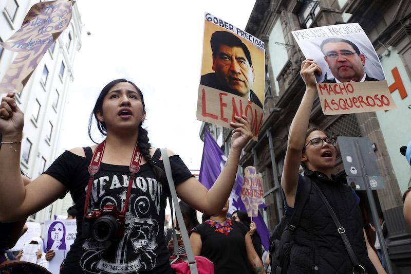 Suben 184% denuncias por acoso sexual en Puebla . Foto: Cuartoscuro.com