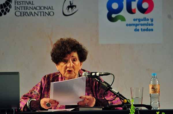 Margo Glantz Shapiro es escritora, profesora emérita de la UNAM, periodista, ensayista y crítica literaria. FOTO: CUARTOSCURO