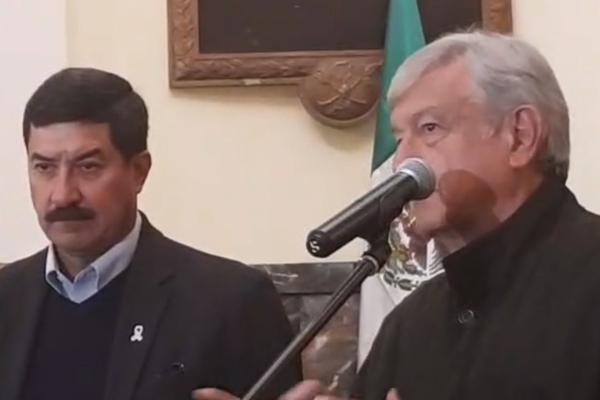 López Obrador da mensaje tras reunión con gobernador de Chihuahua, Javier Corral: EN VIVO