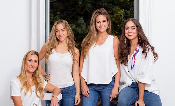 Paola Albarrán nos presenta la nueva campaña de Teletón, a la que se suma Carla Mestre, Rebeca Sutton y Ana Tejeda con propuestas personales. Foto: Yaz Rivera