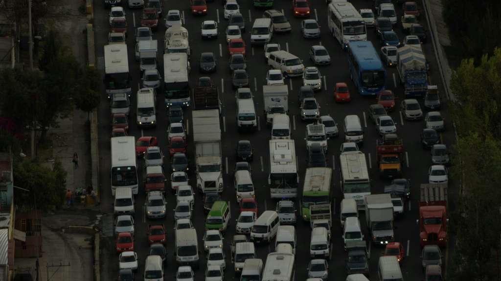 TRÁFICO. La Ciudad de México tiene la mayor congestión, por arriba de Estambul y Los Ángeles. Foto: Especial