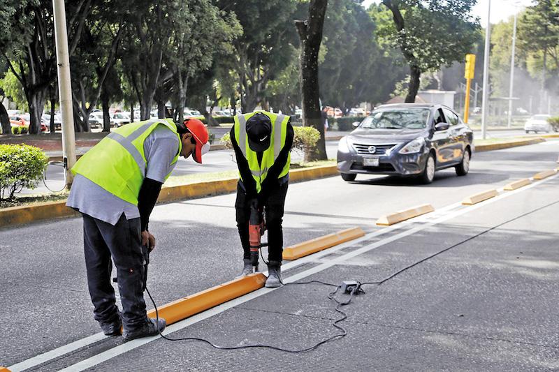 En Puebla preparan apertura de 3 vialidades. Foto: Enfoque
