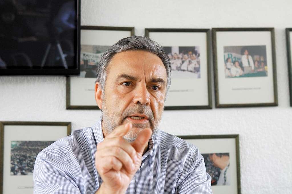 El morenista Alfonso Ramírez Cuellar afirmó que el plan único es para eficientar el manejo de recursos en proyectos planeados en las entidades federativas. FOTO: MOISÉS PABLO /CUARTOSCURO.COM