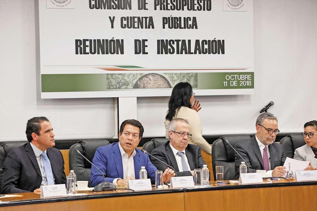 La Comisión de Pre- supuesto iniciará hoy los trabajos de dictamen sólo de las revisiones a la Cuenta Pública 2016.