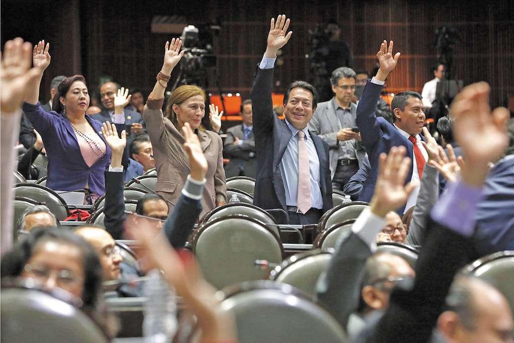 Los diputados de Morena perfilan tener las nuevas reglas antes del 1 de diciembre. Foto: Especial.