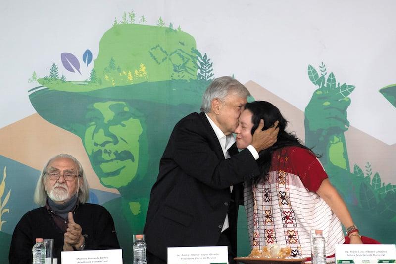 Van 12 mmdp a reforestación. Foto: Edgar López / El Heraldo de México