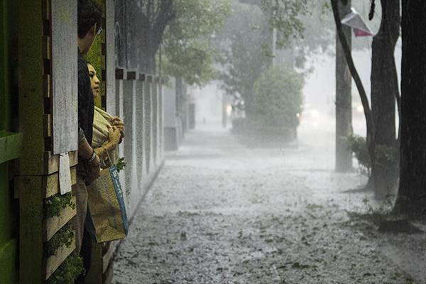 El Ciclón Tropical Sergio impactó en dos ocasiones México. FOTO: CUARTOSCURO