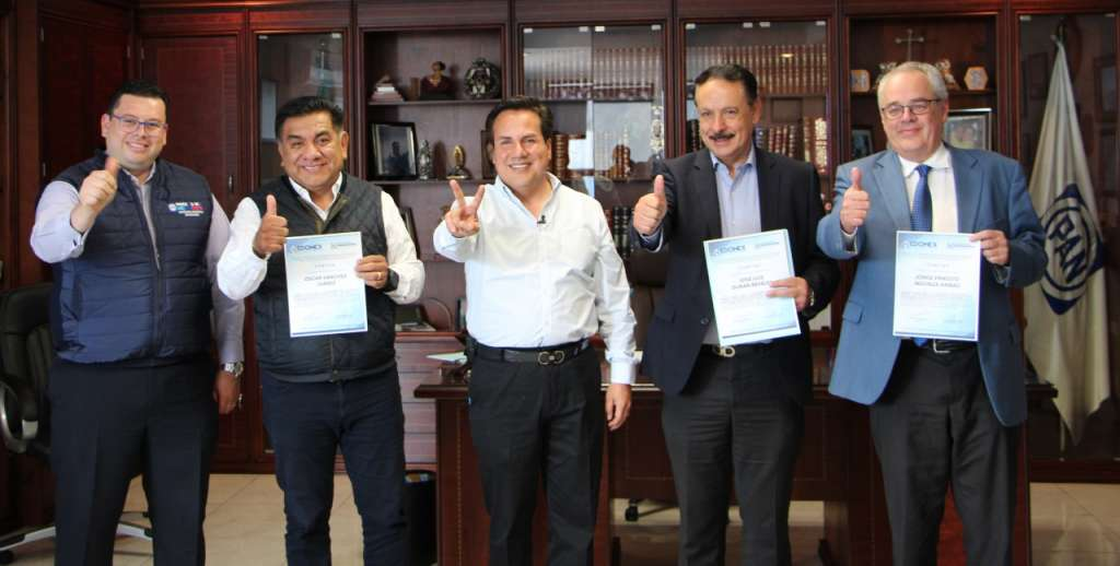 El 11 de noviembre se llevará a cabo la elección del PAN en el Edomex, con la participación de todos los militantes afiliados al partido. Foto: Especial