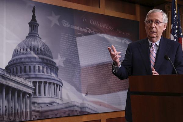 Mitch McConnell, líer republicano en el Congreso de EU. Foto: Reuters