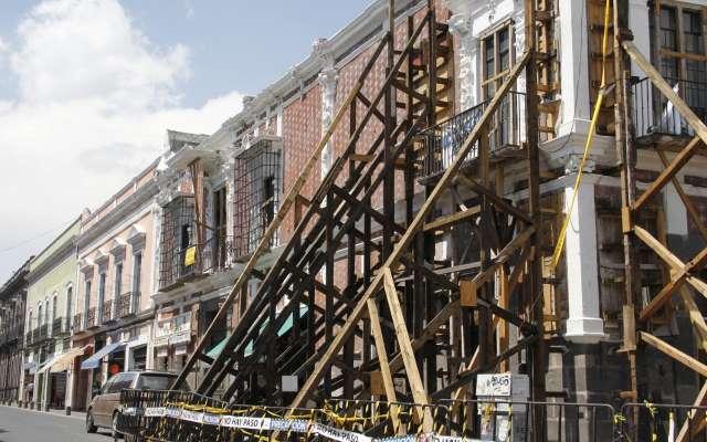 GOLPE. Las empresas pequeñas del Centro Histórico fueron las más afectadas. Foto: ENFOQUE