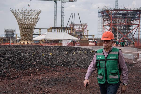 Para el PRI, aclaró, la zona de Texcoco es la mejor opción para desarrollar la nueva terminal aérea. FOTO: CUARTOSCURO