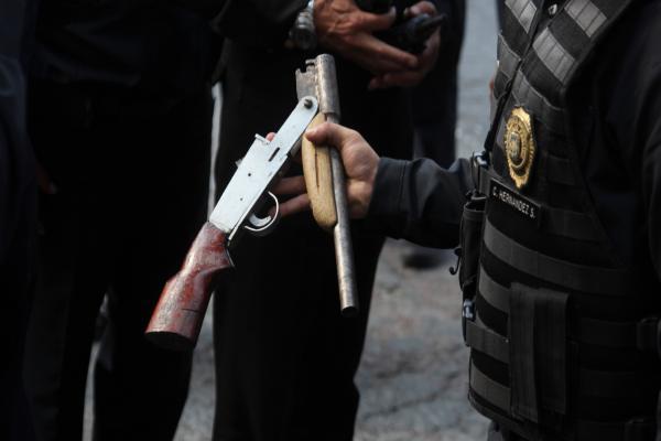 En lo que va del año se han decomisado 4 mil armas de fuego en hechos delictivos. Foto: Archivo | Cuartoscuro