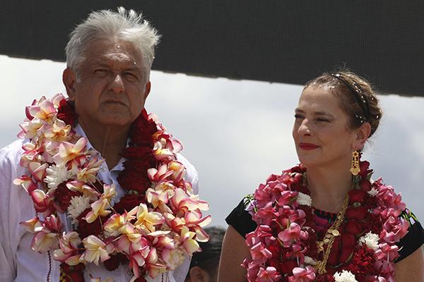 La esposa del presidente electo posicionó la tendencia. FOTO: CUARTOSCURO