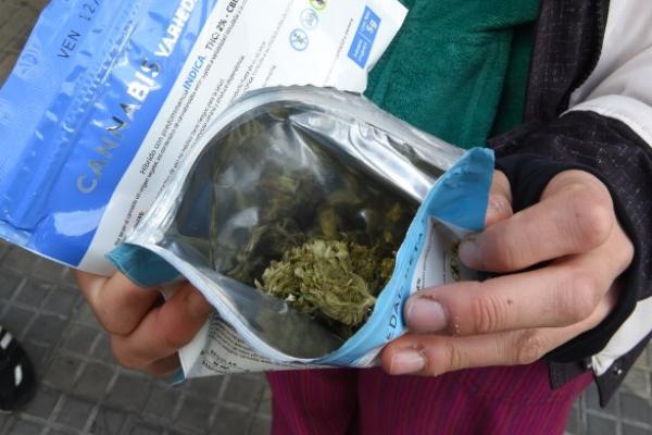 Uruguay fue el primer país en legalizar la marihuana recreativa- Foto: AFP