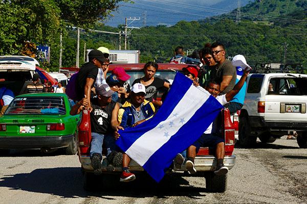 La caravana no tiene agenda y por lo tanto no está definido su recorrido, el cual dependerá de las condiciones climáticas. FOTO: NOTIMEX