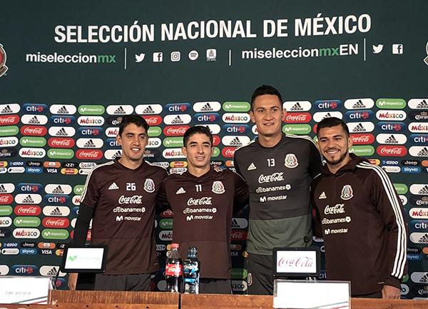 Con 19 de los 26 jugadores convocados por el técnico Ricardo Ferretti, la Selección Mexicana realizó su primer entrenamiento en las instalaciones del Centro de Alto Rendimiento (CAR). FOTO: Selección Mexicana de Futbol