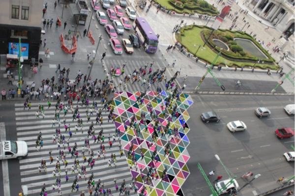 La iniciativa forma parte del proyecto Cruce Latino del festival AMD. Foto: @EspacioVitalMx