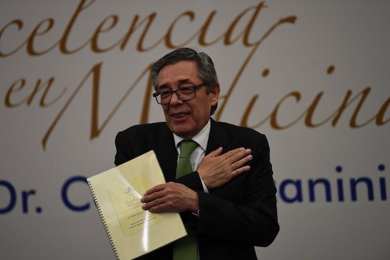 César Decanini Terán, lucha por más acceso a salud. Foto: Bernardo Coronel / El Heraldo de México