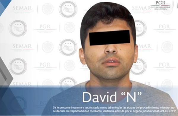 La detención fue realizada por elementos de la Agencia de Investigación Criminal (AIC) y la Secretaría de Marina. FOTO: ESPECIAL