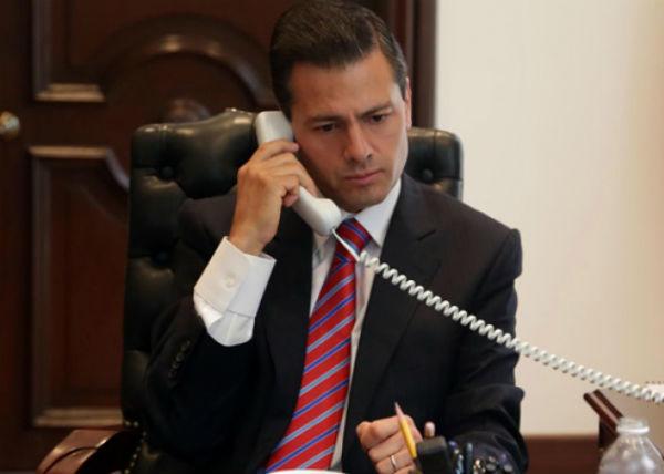 El presidente Peña Nieto agradeció el trabajo y profesionalismo de los equipos negociadores de los tres países Foto: Notimex