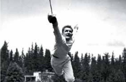 DOBLE IDENTIDAD. La vida que tuvo este polaco, como atleta y espía; terminó en la cárcel. Foto: Especial