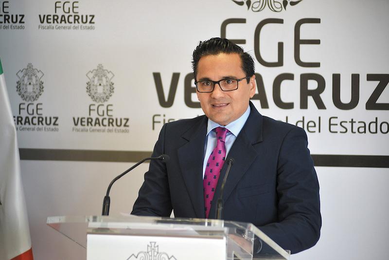El fiscal del estado de Veracruz Jorge Winckler. FOTO: ALBERTO ROA /CUARTOSCURO.COM