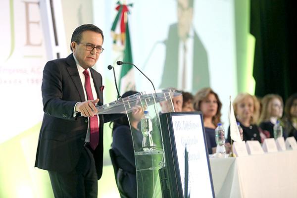 Ildefonso Guajardo, titular de la Secretaría de Economía. FOTO: NOTIMEX