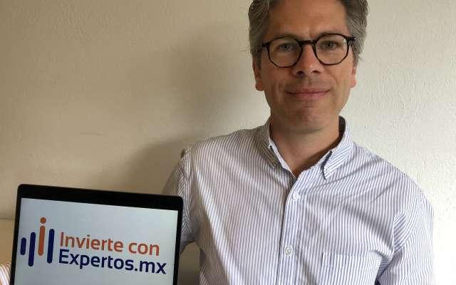 Director y fundador de Invierte con Expertos, Diego de la Campa. FOTO: ESPECIAL