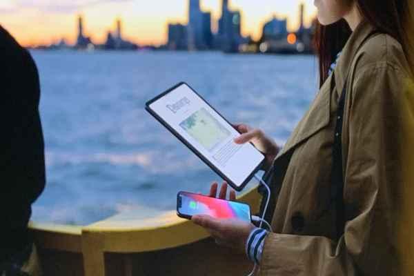 La nueva iPad podrá recargar otros dispositivos. Foto: Especial