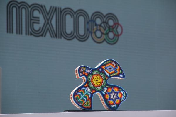 Los festejos se extenderán hasta noviembre con competencias que llevarán el sello de México 68. Foto: Cuartoscuro