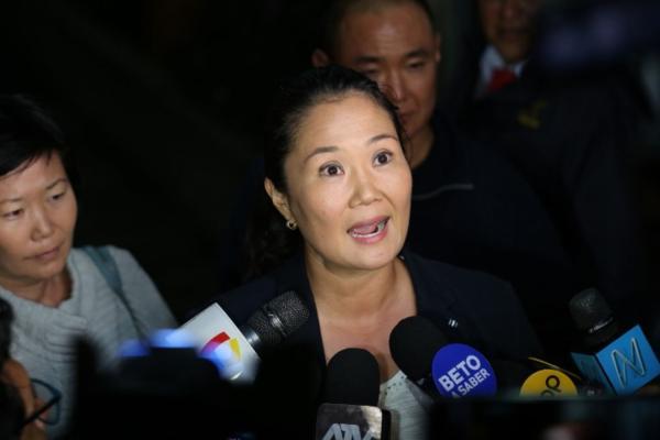 La líder opositora presuntamente manejó de forma irregular fondos de campaña de su partido. Foto: AFP
