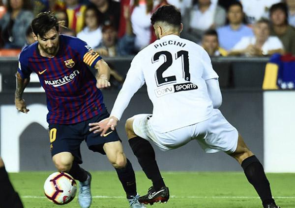 Messi recogerá este galardón el sábado antes del partido contra el Sevilla de la novena jornada liguera. FOTO: AFP