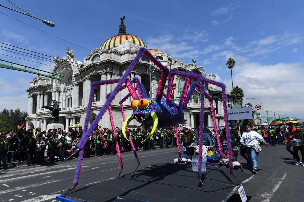 ESPECTACULAR. El evento cuenta con piezas de hasta 3.60 metros. Foto: LESLIE PÉREZ