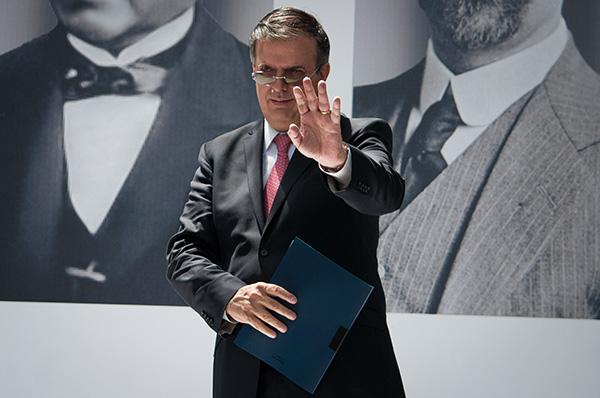Marcelo Ebrard, futuro secretario de Relaciones Exteriores.  FOTO: CUARTOSCURO