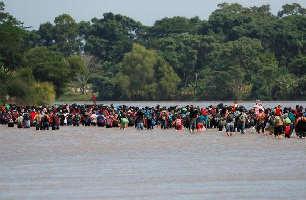el Instituto Nacional de Migración dijo que atenderán principalmente a los grupos vulnerables y podrían otorgar visas Fotos: AFP, EFE y AP