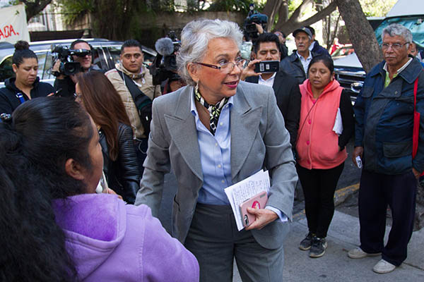 Olga Sánchez Cordero, propuesta como Secretaria de Gobernación.  FOTO: CUARTOSCURO