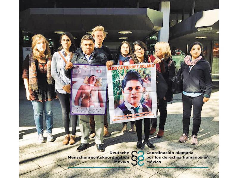 Aldo va a casa 4 años después de Ayotzinapa. Foto: Especial.